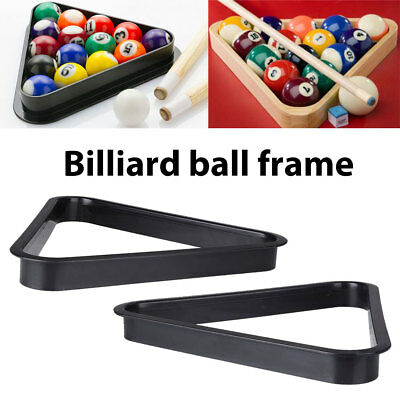 Billiards Snooker Pool Table Ball Plastic Triangle Rack Repositioning Frame