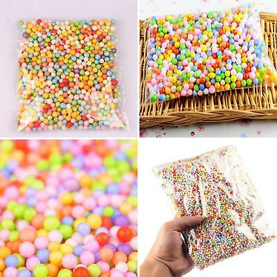 1 Pack Mini Filter Foam Beads Balls Arts Crafts Supplies Diy Decor Beads Comely