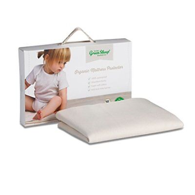 The Little Green Sheep Waterproof Moses Basket Carrycot Mattress Protector