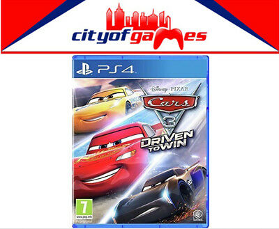 Cars 3 Driven to Win PS4 New & Sealed