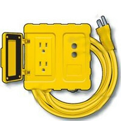 Prime Wire and Cable GF200806 Shock Safe GFCI Power Boxes, 15 Amps, 1875 Watts