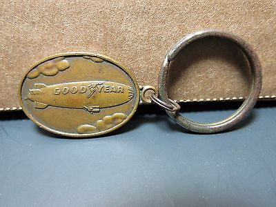Goodyear Blimp Keychain Advertising Keychain