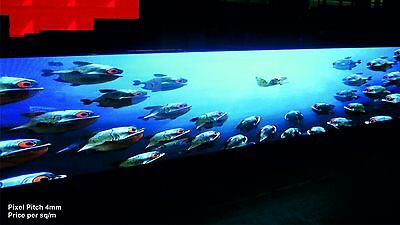 Full Colour LED Video Wall Display - Pixel Pitch 4mm - Indoor - price per 1m²