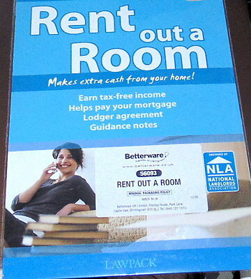 Bnip Diy Rent Out A Room Law Pack Inc Lodger Agreements Forms