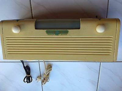 Rare Telex 10 Cent Hotel Coin Operated Radio W/light Works