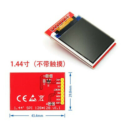 "LCD 1.44"" Red Serial 128X128 SPI Color TFT LCD Display Module"