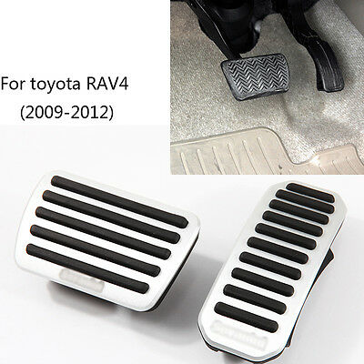Pedal Cover Fuel Gas Brake Foot Rest Housing No Drilling For Volvo XC60 AT 15-17