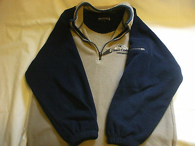 West Coast Connection 1979  Long Sleeve Brown / Blue sweater Boys Girls 7-8