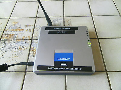Routeur LINKSYS Wireless G Model WAG 200 G