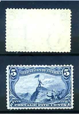 Usa Stamps Fremont  On Rocky Mountain  Expertly Re-Gummed Mint Nh