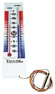 Taylor 5327 Max/Min Grove Park Analog Thermometer, -40 TO 100 deg F