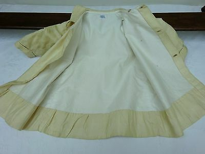 Silk Babies Coat  Early 1900's Jacket Christening Antique Doll Vintage Edwardian