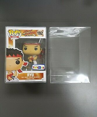 "5 Funko Pop! 4"" Vinyl Box Protector Acid Free 0.37 mm thickness without FILM"