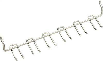 ORGL-7001597-Crawford 18888 Light Duty Multi-Tool Peg Hook Rack, 7 in L X 1-1/8