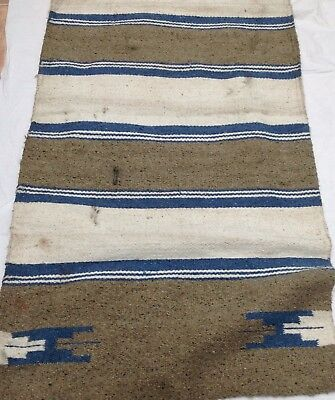 Native American Style Western Saddle Blanket Vintage