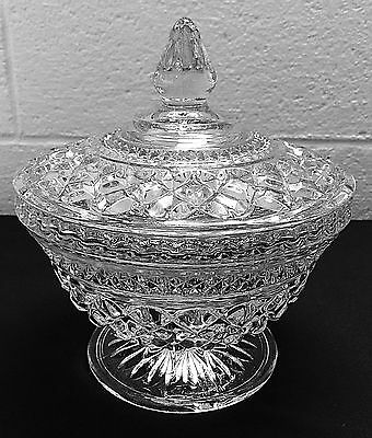 Anchor Hocking Wexford Clear Candy Dish