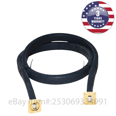 New WR75 Flexible Waveguide 300mm Length Twistable Cover/Cover-Groove