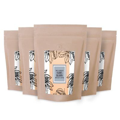 Organic FTO INDONESIA FLORES KOMODO SPECIALTY GRADE AA Coffee Beans Roasted