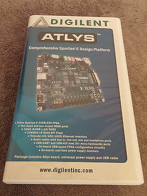 Digilent Atyls Spartan-6 FPGA Design Platform (Used, Tested, Purchase as is)