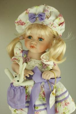 Posh Lady Collectable Dolls  Limited Edition 74/300 Toddler in Lilac Outfit SA43