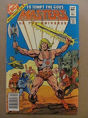 Masters of the Universe #1 DC 1982 Series He-Man NEWSSTAND EDITION 9.4 Near Mint