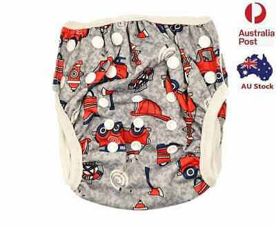 Reusable Swim Nappy Baby Boy Newborn To Toddler Cover Diaper Pants Nappies (S06)