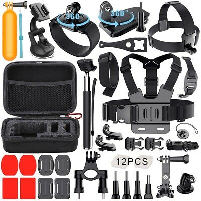 Sport Accessories 40-in-1 Accessory Kit Bundle for Gopro Hero 5/4/3+/3/2/ Camera