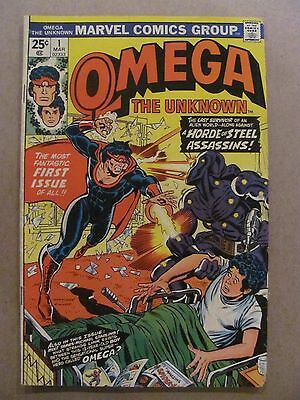 Omega the Unknown #1 2 3 4 5 6 7 8 9 10 Complete Marvel 1976 Series Foolkiller