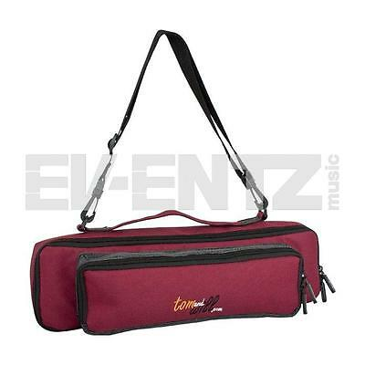 Tom & Will flute & piccolo piggyback case cover Burgundy
