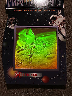 90/'s Polaroid Future Vision 3D Hologram Holographic Sticker Ghost in the Machine