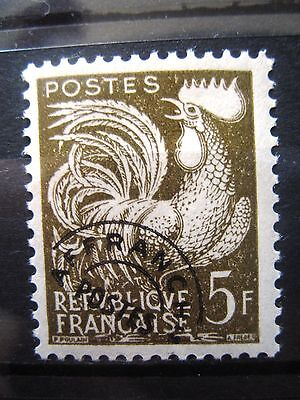 Timbres Preobliteres France-N° 107 Neuf** Sans Trace De Charniere