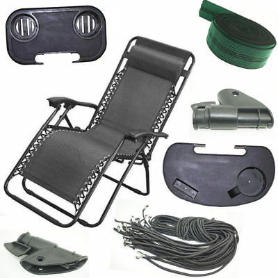 Zero gravity outdoor portable foldable reclining lounge camping beach chair Part