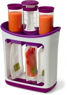 Infantino Fresh Squeeze Station Baby Toddler Home Food Feeding Maker BPA-Free