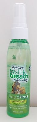 TROPICLEAN FRESH BREATH LIQUID FLOSS - 118ml