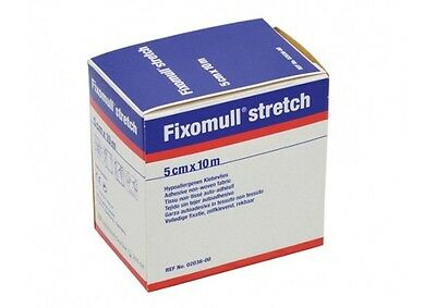 NEW Fixomull Wound Care Tape Stretch 5cm X 10m Wound Care First Aid Tapes