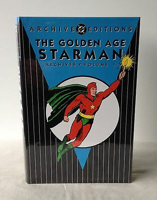 The Golden Age Starman Archives - Volume 1 - DC Archive Editions 1st DJ 2000