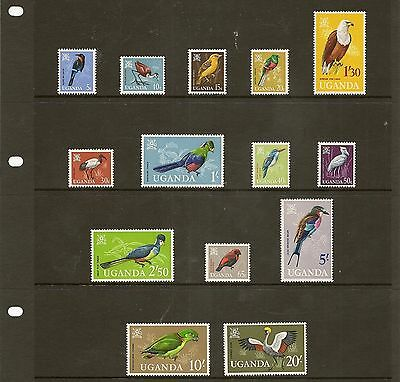Uganda 1965-90 Never Hinged Mint Colln Rich In Wildlife Issues (150+3M/s)