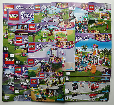 Lego Friends Instruction Manual Books Only New 099 Picclick Uk