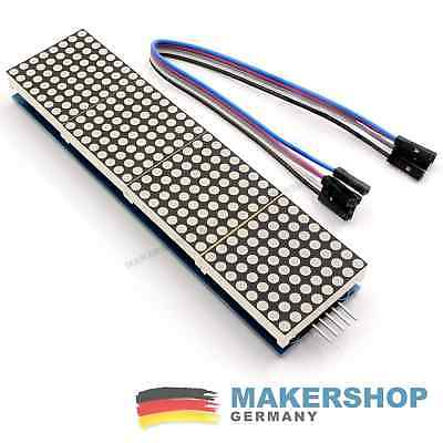 Dot Matrix Modul 8x8 Display Arduino 4 Matrix MAX7219 Led Lcd Raspberry Pi