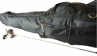 Professional Classic A-shaped fencing weapon bag - Black