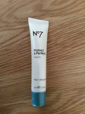 BOOTS No7 protect & and perfect serum - 30ml