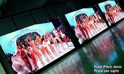 Full Colour LED Video Wall Display - Pixel Pitch 4mm - Outdoor - price per 1m²