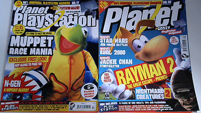 Planet Playstation Magazines April & July 2000