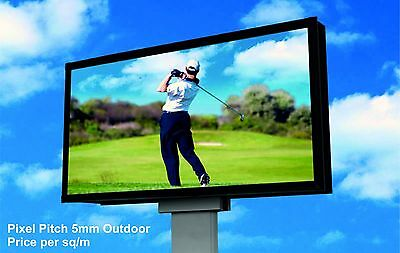 Full Colour LED Video Wall Display - Pixel Pitch 5mm - Outdoor - price per 1m²