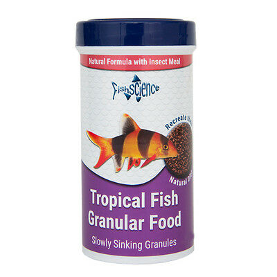 Fish Science Tropical Fish Granular Food 50g Aquarium Natural Insect Meal