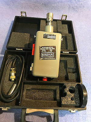 IRD 308 Vibration/Sound Level Meter With Shure 908 Microphone