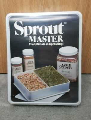 Sprout Master Tray Sprouter - Sprouts Growing System 1 large Tray New