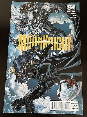Vengeance of the Moon Knight #10 Juan Jose Ryp 2nd Print Variant