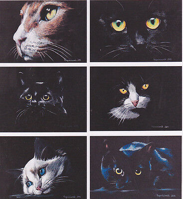 KATZE  KITTY  CAT      *   ACEO     Limited  #  1
