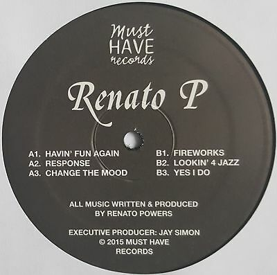 "Renato P - Untitled - 12"" Vinyl - Must Have Records"